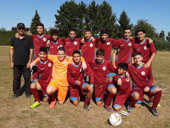 Equipe de joueurs de football
